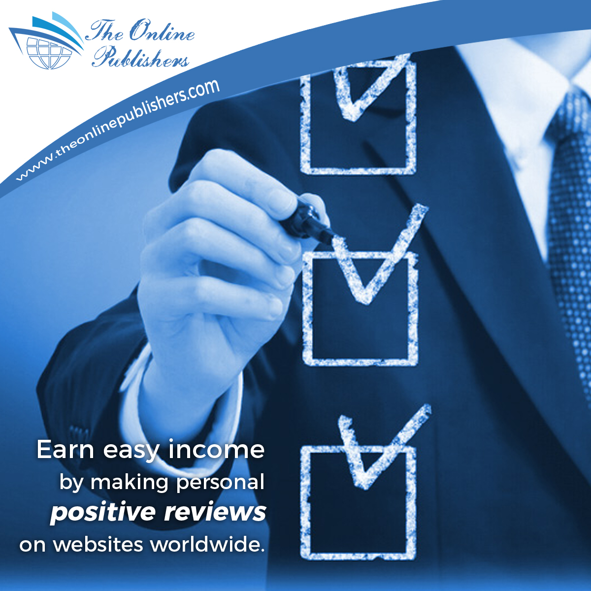 Earn money by working as an online reviewer