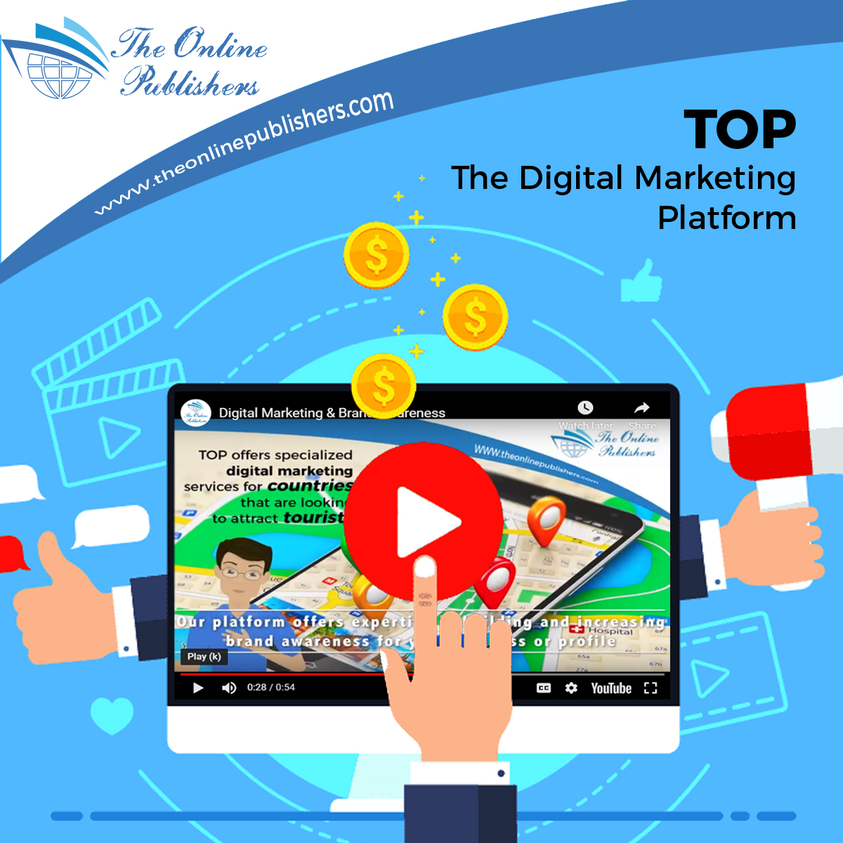 4 Great Services For Digital Marketing Solutions Provided Through TOP Platform