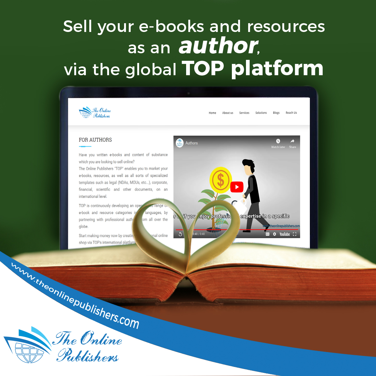 Where To Sell Your E-books Online